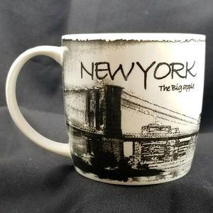 NWT - NEW YORK THE BIG APPLE COFFEE CUP/MUG #5MP16